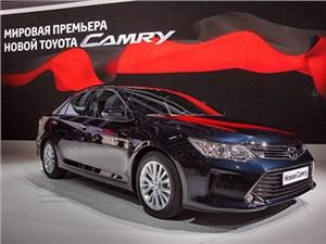 Стала известна стоимость обновленной Toyоta Camry для российского рынка