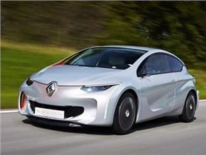 Renault показал в Париже прототип бюджетного гибридного автомобиля