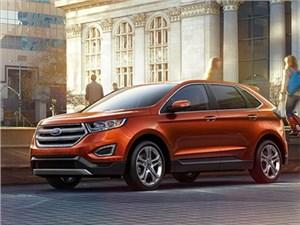 Опубликован прайс-лист на обновленный Ford Edge