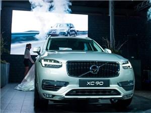 В Москве прошла российская премьера нового Volvo ХС90