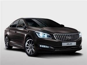 Hyundai показал свой новый представительский седан Aslan
