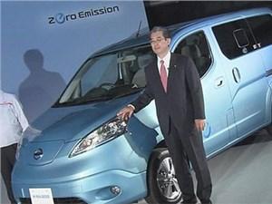 Nissan выводит на японский рынок коммерческие фургоны на электротяге
