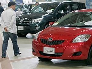 Продажи автомобилей Toyota в Китае растут