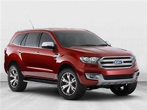 Ford готовится показать в Пекине свой новый кроссовер Everest