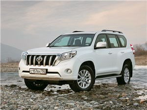 Новая фотография Toyota Land Cruiser Prado