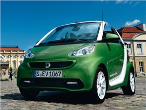 Smart fortwo ED coupe 2013 вид спереди