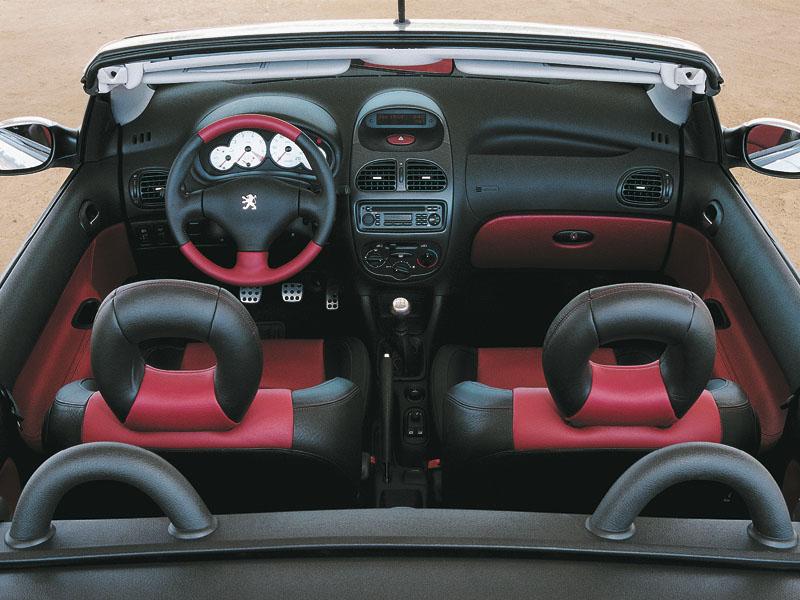 Фото Peugeot 206 CC.