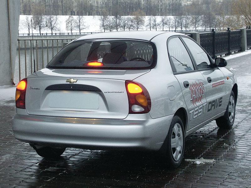 Chevrolet Lanos - фотография 4.