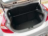 Hyundai Solaris багажное отделение